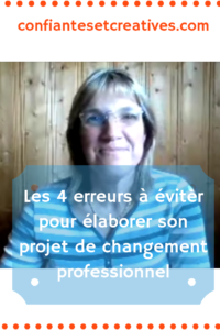 4 erreurs projet changement professionnel