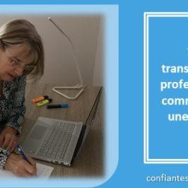 Votre transformation professionnelle commence par une décision